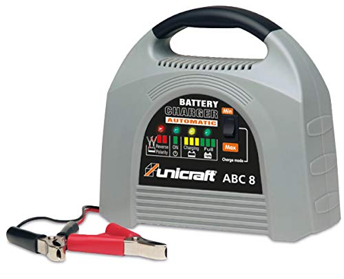 Stürmer Unicraft 6850200 Acculader ABC 8 (batterijonderhoudsinstel; voor wet-, gel- en AGM-batterijen, 12 V)