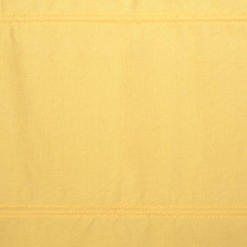 Liedeco Raffrollo Dakar Uni, Rollo mit Seitenzug für Fenster und Tür gelb, 60 cm x 175 cm (B x L)