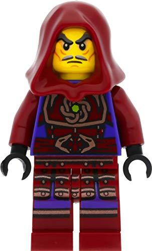 LEGO Ninjago - Minifigura de nube con tapa y espadas (pirata aérea/Skybound)