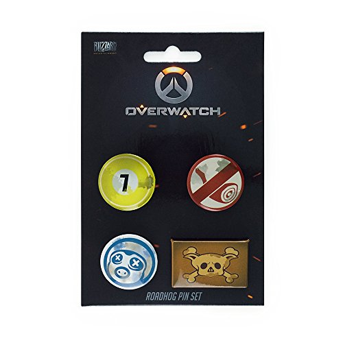 Overwatch Pin Set Roadhog