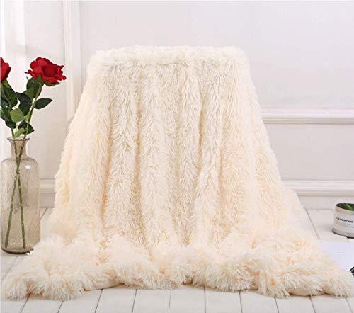 Enipte 毛布 ブランケット 冷房対策 冬に暖か ひざ掛け ふわふわ 掛け毛布 毛足の長いシャギー ソファカバー 防寒毛布 洗濯OK