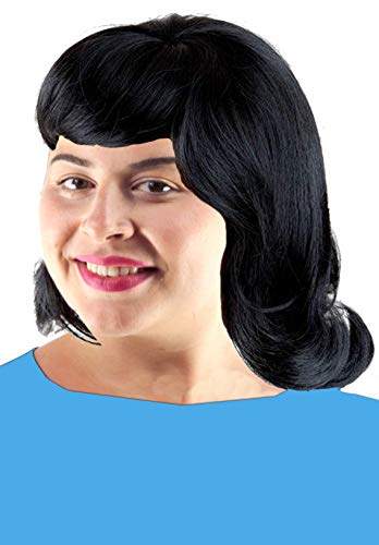 Lucy Peanuts Costume Wig 60s Wig Black Flip Lucy Costume Wig Jackie Kennedy Wig Short Women's Costume Wig