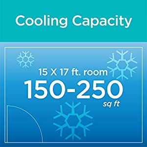 BLACK+DECKER BPACT10WT, 10000 BTU Portable Air Conditioner Unit, Window Vent Kit, 4 Caster Wheels, White