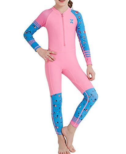 Jungen Mädchen Neoprenanzug Badeanzug - Kinder Bademode Tauchanzug Sonnenschutz UV 50 DGXJTY (K2, XL)
