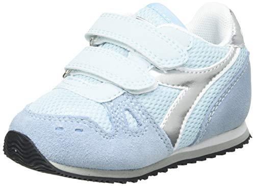Diadora Simple Run TD Girl, Scarpe da Ginnastica Bambina, Starlight Blue, 25 EU