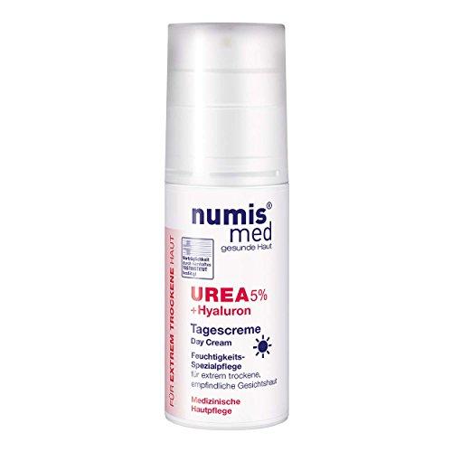 NUMIS Med Día Crema 3ventaja Pack urea 5% + Ácido Hialurónico 3x 50ml