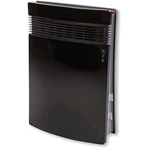 Soler & Palau 5226833500 Calefactor vertical TL-40TL-401000/1800w Negro/G, 2000 W