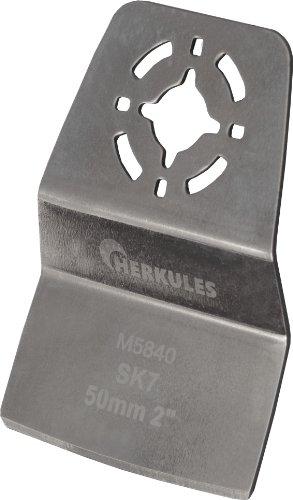 Herkules M5840 Grattoir coudé pour perceuse multifonction L 75 x 50 x 1 mm