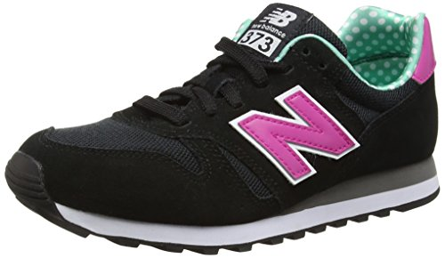 New Balance WL373 Lifestyle - Zapatillas de Deporte para Mujer, Color Negro, Talla 37.5