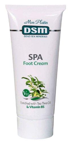 Mon Platin DSM Crème pour les pieds enrichie en huile d'arbre à thé et vitamine B5 200 ml