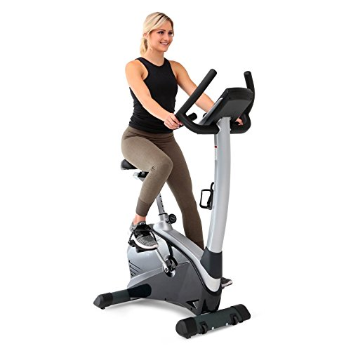3G Cardio Elite Ub Upright Bike, Gray/Silver