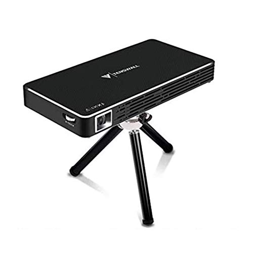 Mini Projektor Beamer, Android7.1 Videoprojektor TOUMEI C800S LED Portable Heimkino Beamer WiFi Bluetooth Quad-Core HDMI / TF / USB Pocket Video Beamer Multi-Bildschirm für Smartphone PC Laptop