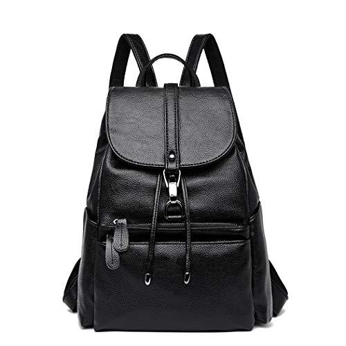 Rucksack Damen, COOFIT Damen Rucksack Leder Rucksack für Mädchen Schultasche Casual Daypack Schulrucksäcke Tasche Schulranzen