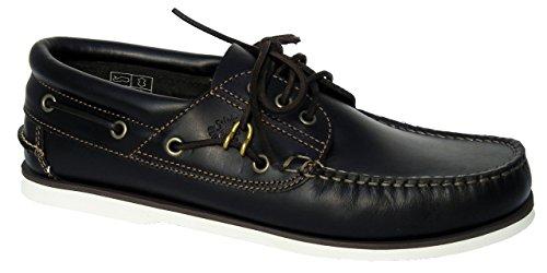 BluePort BluePort Herren Bootsschuhe Klassik Comfort Deckschuhe Mokassin, Größe:45 EU