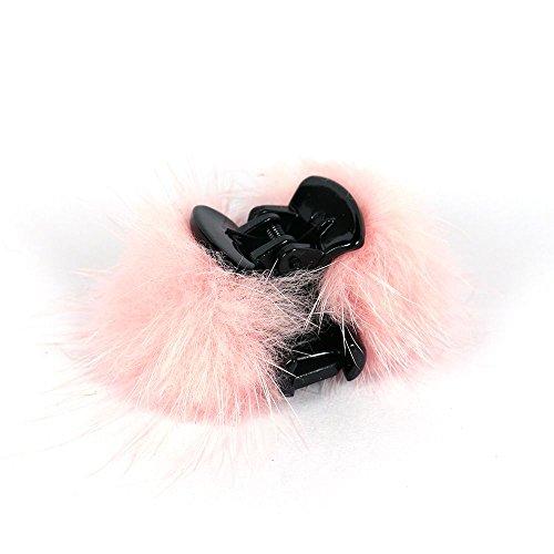 サイドファークリップ【hairaccessory ルピス】/ピンク