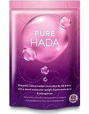 50倍濃縮 プラセンタ 10000mg/日 PUREHADA 超低分子 ヒアルロン酸 コラーゲン セラミド 厳選9種
