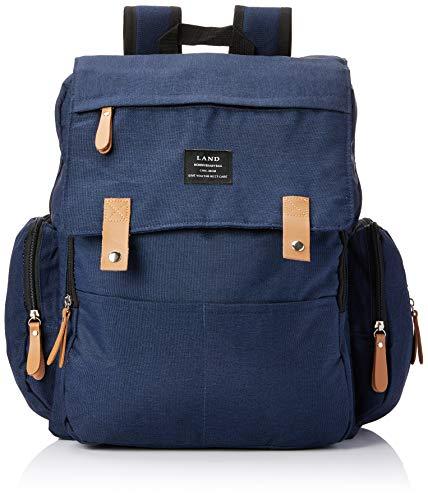 Bolsa mochila maternidade Land Luxury original azul térmica