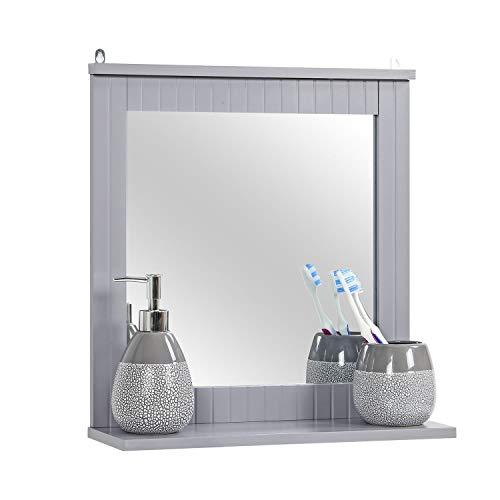 ikea spegel med hylla