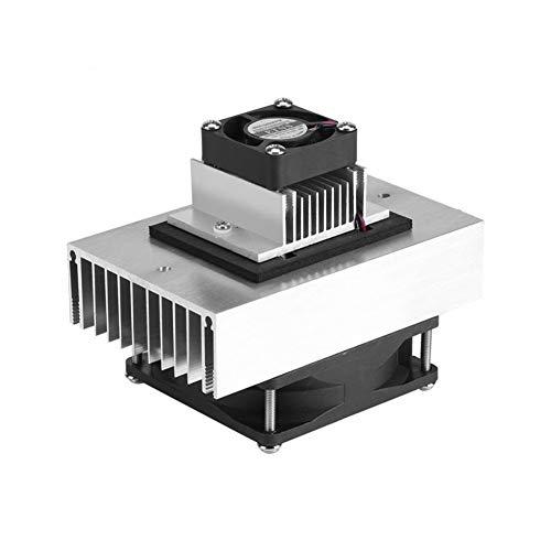 ZZSSHENG Zhangsheng 1 Pieza de 12V CC Semiconductor Frigorífico refrigeración y Sistema de refrigeración DIY Kit Mini acondicionador de Aire
