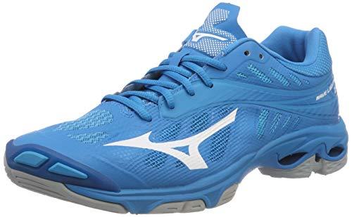 Mizuno Wave Lightning Z4, Zapatillas para Hombre, Azul (Bjewel/Wht/Hocean 001), 47 EU
