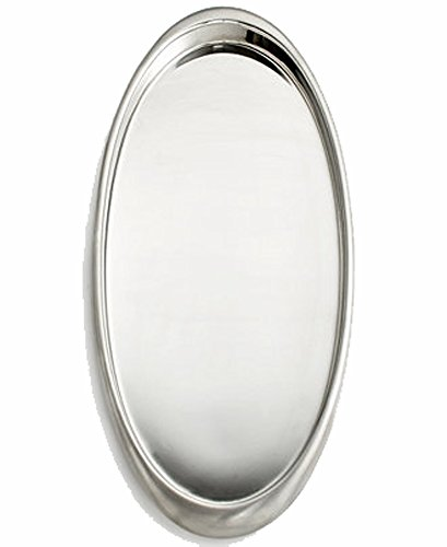 Hotel Collection 'Executive Stainless' Tray Silver