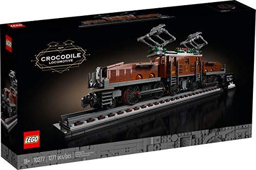 LEGO 10277 Lokomotive Krokodil Crocodile Locomotive Zug 1271 Teile .