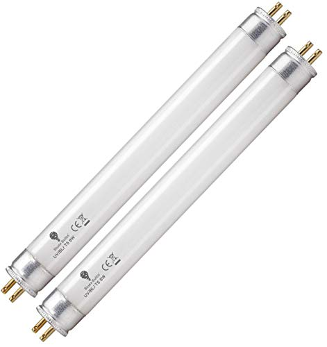 2 Pack 6 Watt Replacement Bulbs F6T5/BL Fluorescent Tube G5 Base 9 inch Full Length Replacement for DT2000XL and DT2000XLP and DT3012 by BlueX