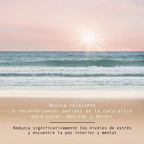 Diseño de la portada del título Música relajante y reconfortantes sonidos de la naturaleza para curar, meditar y dormir (Spanish Edition)
