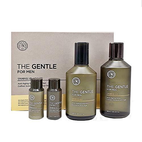 The Face Shop THE GENTLE for MEN Anti-Aging Skincare SET Toner Emulsion