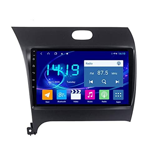 BANNESE Navegador GPS para Camiones Y Coches Android 9 Radio De Coche Player 1080P HD Pantalla Táctil Sistema De Navegación, para Kia K3 2013-2015, Incorporado Carplay Android Auto