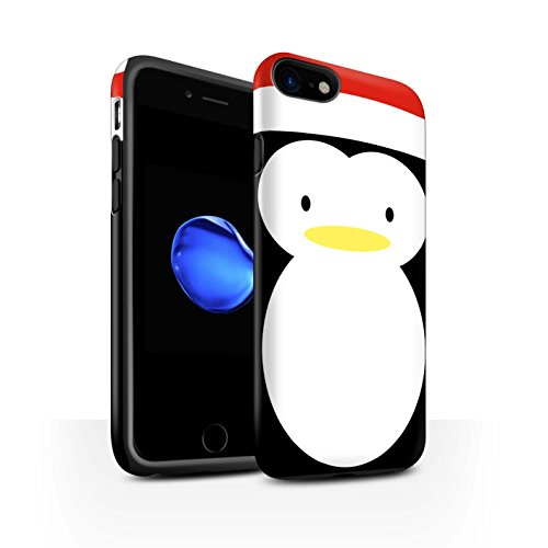 Stuff4 Telefoonhoesje/Cover/Skin/IP-3DTBM / Kerst Karakter Collectie Apple iPhone SE 2020 Pingu?