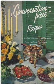 Paperback Conversation-Piece Recipes Book