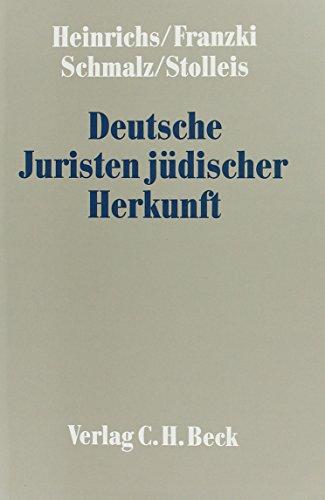 Deutsche Juristen jüdischer Herkunft