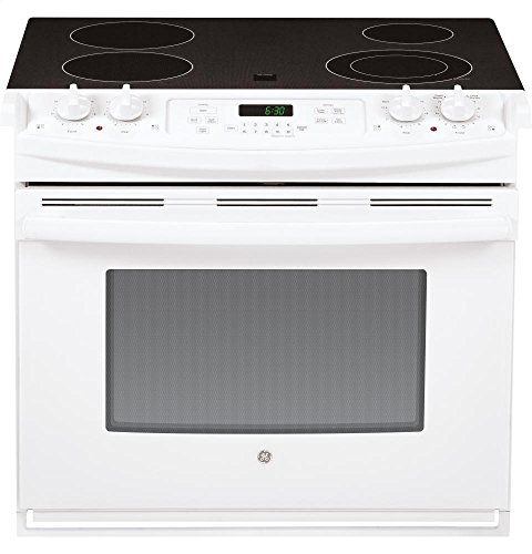 GE JD630DFWW Electric Smoothtop Range Oven