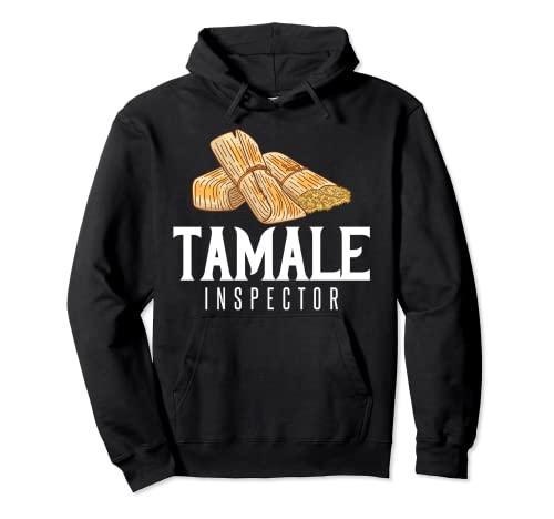 Tamale Mexican Gift Receta Vegano Sudadera con Capucha