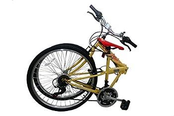 Columba 26  Folding Bike w 18 Speed Lava  SP26S_LAV