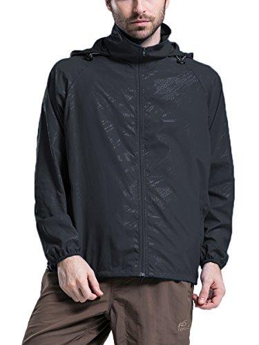 Men's Lightweight Skin Quick Dry Jacket Outdoor Running Windbreaker Coat Transient Waterproof Not A Raincoat