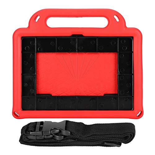 Cuifati Funda Protectora Impermeable para Tableta Funda Protectora de EVA Antideslizante y sin rayones Funda Protectora para niños Apta para tabletas Amazon Fire HD 8(Scarlet)
