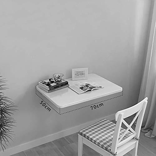 ZLP Tafel Bureau Computer Bureau Kids Tafel Vouwen Wandmontage Eettafel, Tafel 'Muur Groen Vouwen Flip Leren, Tekenen Piano Tafel voor De Kleine Kamer Tafel' Laptop voor Kinderen 70 * 50cm