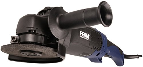 FERM professionele haakse slijper/haakse slijper 1400 W - 125 mm