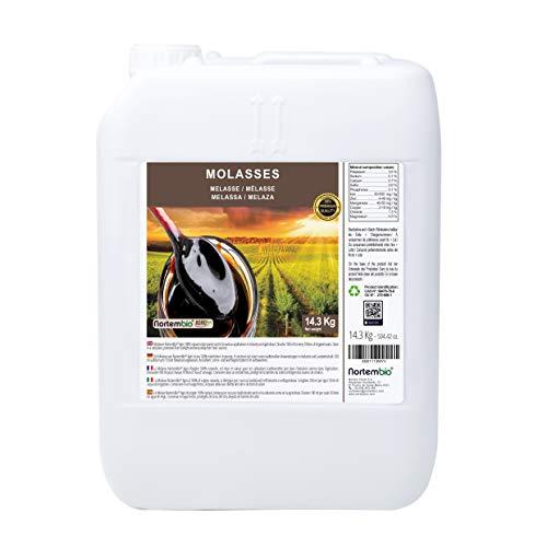 Nortembio Agro Mélasse 14,3 Kg. 100% Naturelle. Favorise la Croissance de Cultures. Usage Universel. Non Sulfuré.