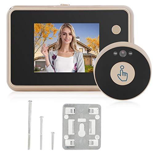 DAUERHAFT Videoportero Inteligente con cámara de visión Nocturna por Infrarrojos para Puerta
