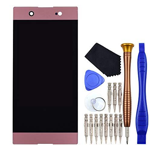 VEKIR Rosado G3226 Reparación de la Pantalla LCD de la Pantalla táctil del digitalizador reemplazo Compatible con Sony Xperia XA1 Ultra G3221 G3212 G3223