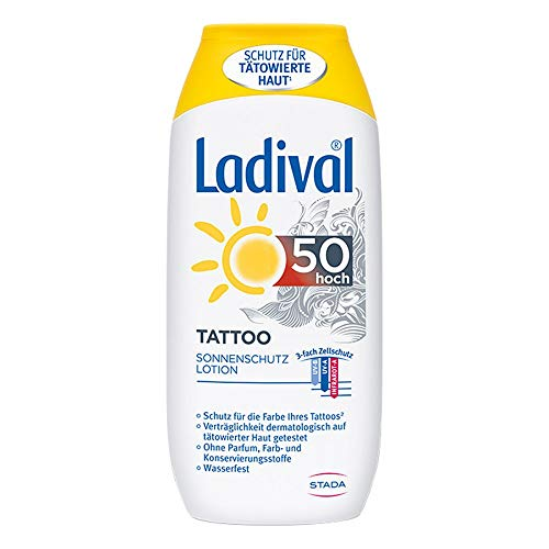 Ladival Tattoo, 200 ml Lotion