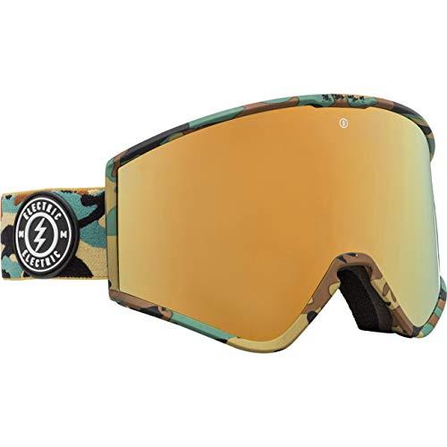 Electric Snowboardbrille KLEVELAND, Größe:OneSize, Farben:camo + bl-Brose/Gold