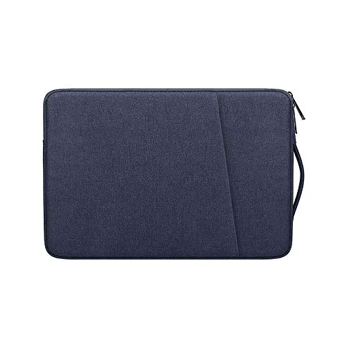 New Waterproof Laptop Bag Cover 13.3 14 15 15.6 inch tebook Case Handbag for acbook Air Pro-Navy Blue_13-inch
