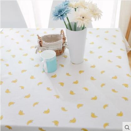 Creek Ywh tafelkleed, tafelkleed, ring van hout, tarwemotief, foto-achtergrond, rood net met hetzelfde tafelkleed, A3 Cosa? Bananen, 140 x 220 cm