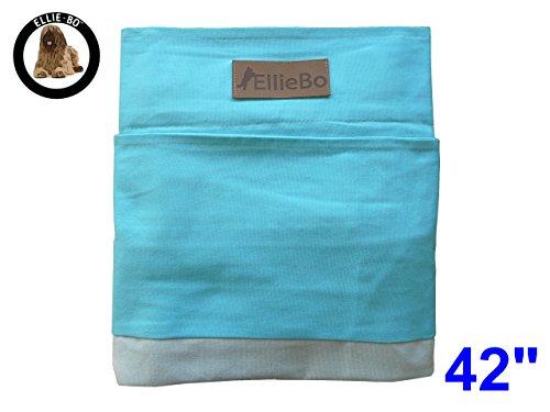 Ellie-Bo Carcasa Rayas Perro Cama de Repuesto, 106,7cm (42), XL, Azul/Gris