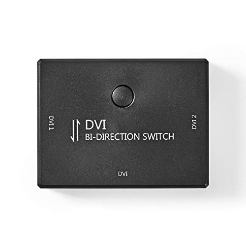 2-Poorts DVI Bidirectionele Schakelaar Zwart