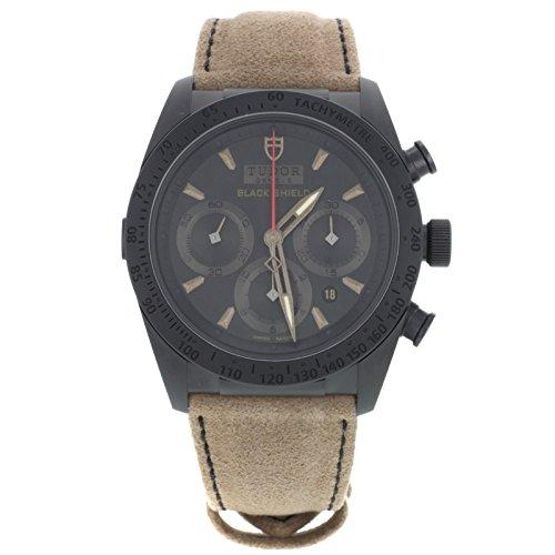 Tudor, Fastrider Blackshield, 442000cn-alcantara, orologio automatico, in ceramica